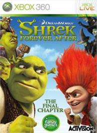 Box cover for Shrek Forever After on the Microsoft Xbox 360.
