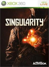 Box cover for Singularity on the Microsoft Xbox 360.