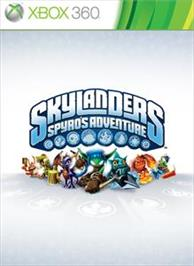 Box cover for Skylanders Spyro's Adventure on the Microsoft Xbox 360.