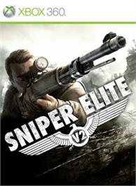 Box cover for Sniper Elite V2 on the Microsoft Xbox 360.