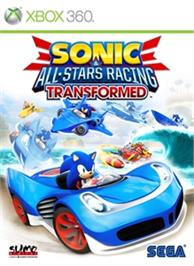 Box cover for Sonic & All-Stars Racing Transformed on the Microsoft Xbox 360.