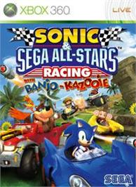 Box cover for Sonic & SEGA Racing on the Microsoft Xbox 360.