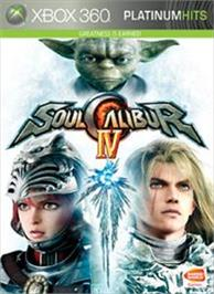 Box cover for Soulcalibur IV on the Microsoft Xbox 360.