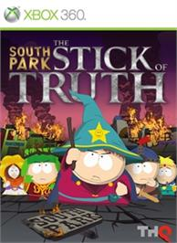 Box cover for South Park: The Stick of Truth on the Microsoft Xbox 360.