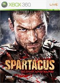 Box cover for Spartacus: Blood and Sand on the Microsoft Xbox 360.