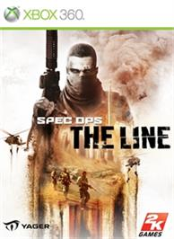 Box cover for Spec Ops: The Line on the Microsoft Xbox 360.
