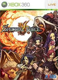 Box cover for Spectral Force 3 on the Microsoft Xbox 360.
