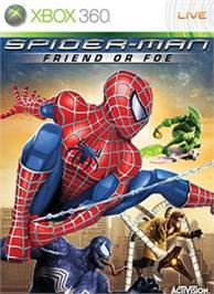 Box cover for Spider-Man: FoF on the Microsoft Xbox 360.
