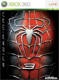 Box cover for Spider-Man 3 on the Microsoft Xbox 360.