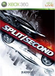 Box cover for Split/Second on the Microsoft Xbox 360.