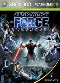 Box cover for Star Wars: The Force Unleashed on the Microsoft Xbox 360.