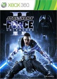 Box cover for Star Wars: The Force Unleashed II on the Microsoft Xbox 360.
