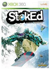 Box cover for Stoked on the Microsoft Xbox 360.