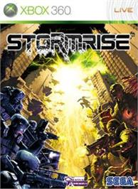 Box cover for Stormrise on the Microsoft Xbox 360.
