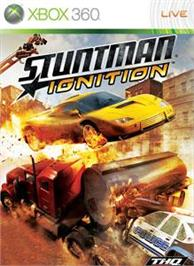 Box cover for Stuntman: Ignition on the Microsoft Xbox 360.