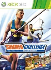 Box cover for Summer Challenge on the Microsoft Xbox 360.
