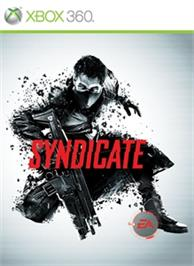 Box cover for Syndicate on the Microsoft Xbox 360.
