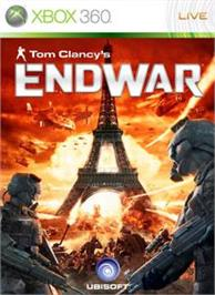 Box cover for TC's EndWar on the Microsoft Xbox 360.
