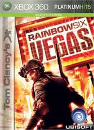 Box cover for TC's RainbowSix Vegas on the Microsoft Xbox 360.