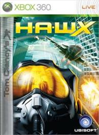 Box cover for TCs H.A.W.X on the Microsoft Xbox 360.