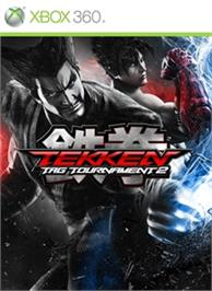 Box cover for TEKKEN TAG TOURNAMENT 2 on the Microsoft Xbox 360.