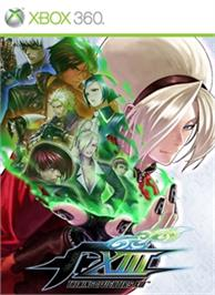 Box cover for THE KING OF FIGHTERS XIII on the Microsoft Xbox 360.