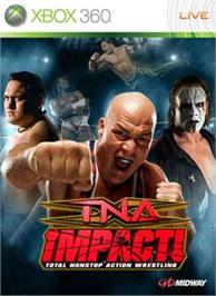 Box cover for TNA iMPACT! on the Microsoft Xbox 360.