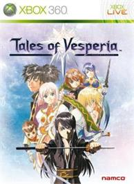 Box cover for Tales of Vesperia on the Microsoft Xbox 360.