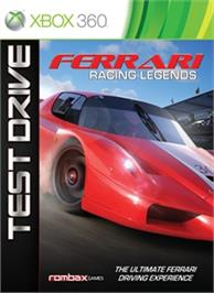 Box cover for Test Drive: Ferrari on the Microsoft Xbox 360.