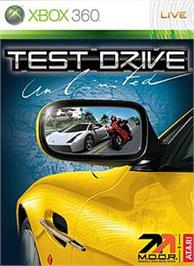 Box cover for Test Drive Unlimited on the Microsoft Xbox 360.