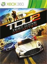 Box cover for Test Drive Unlimited 2 on the Microsoft Xbox 360.