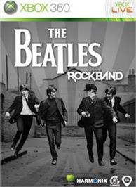 Box cover for The Beatles: Rock Band on the Microsoft Xbox 360.
