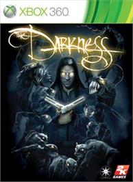 Box cover for The Darkness on the Microsoft Xbox 360.