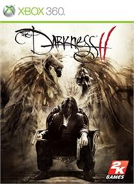 Box cover for The Darkness II on the Microsoft Xbox 360.