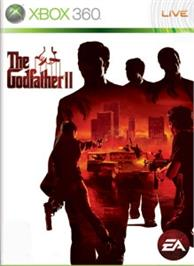 Box cover for The Godfather II on the Microsoft Xbox 360.