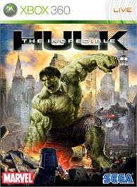 Box cover for The Incredible Hulk on the Microsoft Xbox 360.
