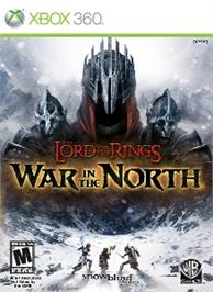 Box cover for The Lord of the Rings: War in the North on the Microsoft Xbox 360.