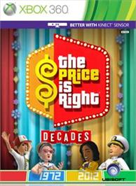 Box cover for The Price Is Right® on the Microsoft Xbox 360.