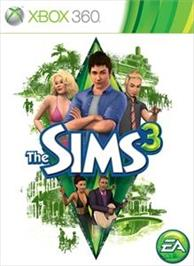 Box cover for The Sims 3 on the Microsoft Xbox 360.