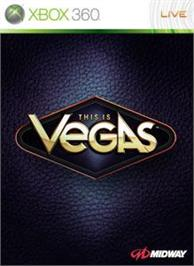 Box cover for This is Vegas on the Microsoft Xbox 360.