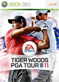 Box cover for TigerWoodsPGATOUR® 11 on the Microsoft Xbox 360.