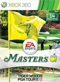 Box cover for Tiger Woods PGA TOUR® 12: The Masters® on the Microsoft Xbox 360.