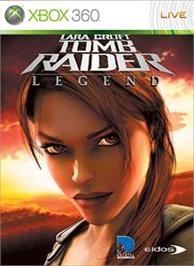 Box cover for Tomb Raider:Legend on the Microsoft Xbox 360.
