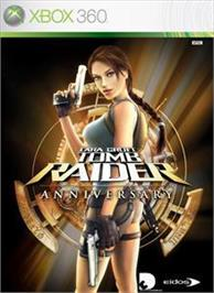 Box cover for Tomb Raider: Anniv. on the Microsoft Xbox 360.