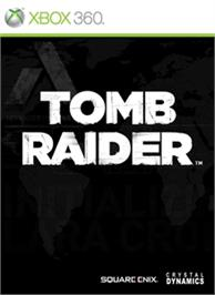 Box cover for Tomb Raider on the Microsoft Xbox 360.