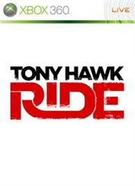Box cover for Tony Hawk: RIDE on the Microsoft Xbox 360.