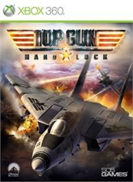 Box cover for Top Gun: Hard Lock on the Microsoft Xbox 360.