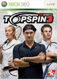 Box cover for Top Spin 3 on the Microsoft Xbox 360.