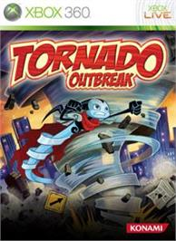 Box cover for Tornado Outbreak on the Microsoft Xbox 360.