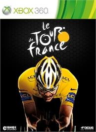 Box cover for Tour de France on the Microsoft Xbox 360.
